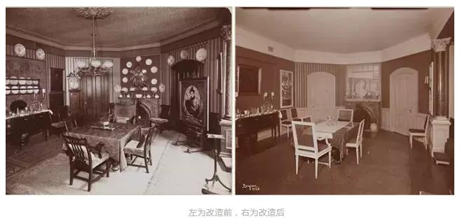 美国第一位室内设计师:ElsiedeWolfe的室内设计作品