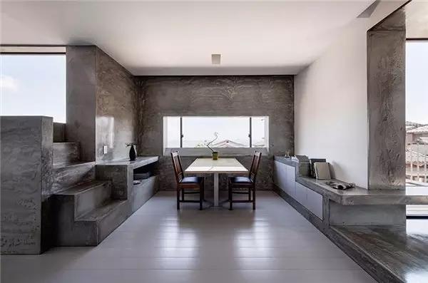 案例鉴赏:室内设计中混凝土的美